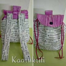 Dogs and Batik Backpack