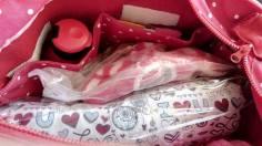 The Inside of a Diaper Bag