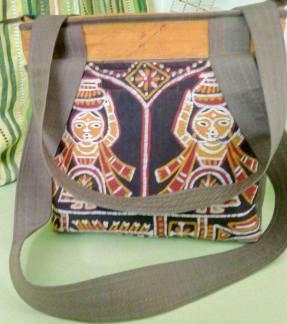 Batik Ladies Shoulder Bag