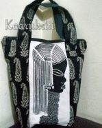 Black and White 'Bagwati' by Kaarukriti