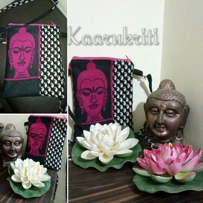 Buddha Sling Bag by Kaarukriti