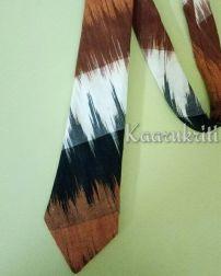 Ikat Necktie by Kaarukriti