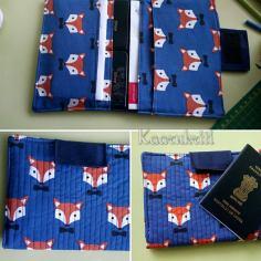 Passport Wallet Fox