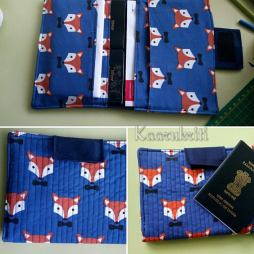 Passport Wallet Fox