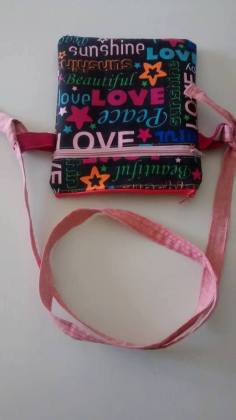 Pink sling
