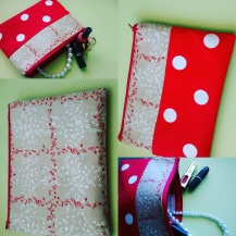 Polka Makew up pouch