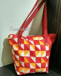 Red and Yellow HST Shoulder Tote