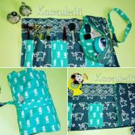 sea horse and elepant kit'