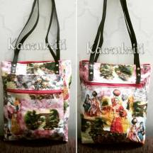 Two Zipper hispter bag Modified